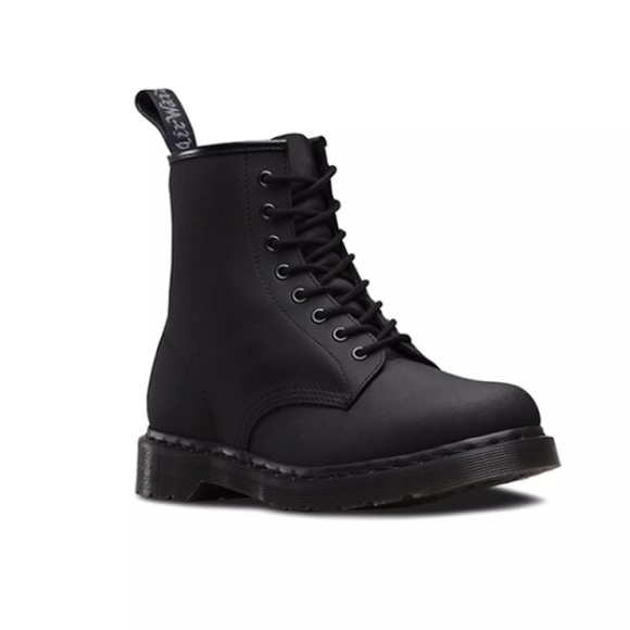 0451b446453 Dr. Martens Shoes | Brand New Wob Dr Martens 1460 Black Ajax Boot ...